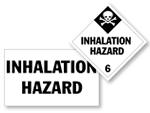 Class 6 Inhalation Hazard Placards
