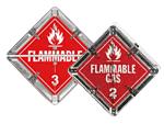 Flip-n-Lock™ Flammable Placards