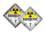 Flip-n-Lock™ Radioactive Placards