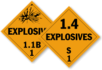 Explosive Placards