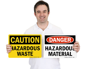 Hazardous Materials Signs