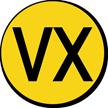 Military Chemical VX-Type Nerve Agent Hazard Symbol Label