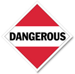 Dangerous Placard for Mixed Loads